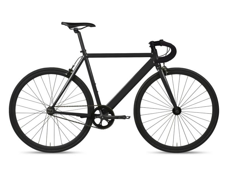 Vélo Fixie 6KU Track Drop Noir