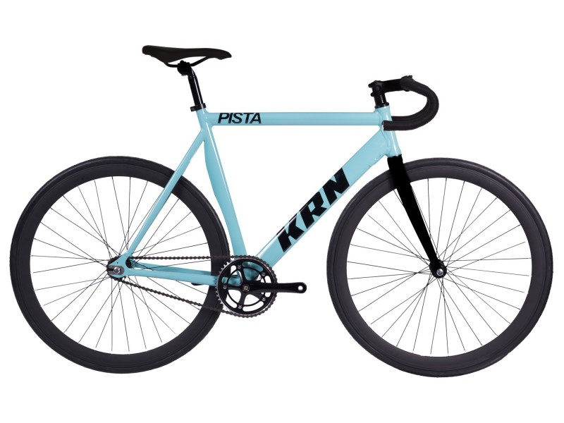 Vélo Fixie KRN Pista Bleu...