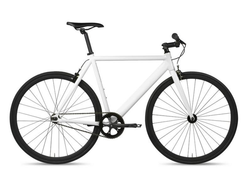Vélo Fixie 6KU Track Blanc